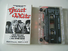 GREAT WHITE CASSETTE TAPE RARE 3 TRACK PROMO CAPITOL 1089