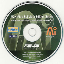 ASUS M2N-PLUS VISTA Motherboard Drivers Installation Disk M1099