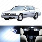 12 x Xenon White LED Interior Light Package For 2000-2005 Chevrolet Chevy Impala