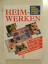 Heimwerken Neues grosses Handbuch in Farbe