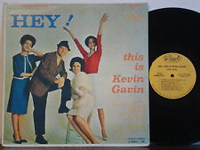 KEVIN GAVIN-MUNDELL LOWE Hey! This is RARE EXC 1962 PARKER STEREO LP Vocal Jazz