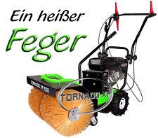 Kehrmaschine Schneefeger + E-Start + 80cm Bürste  Sonderposten + Schneeschild