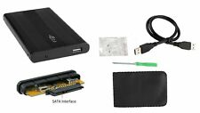 "USB 2.0 2.5"" SATA Hard Drive Disk Case Enclosure External Notebook Laptop Black"