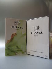 CHANEL No19 POUDRE EDP 100ml PRE REFORMULATION 2011 LUXURY CHANEL GIFT WRAP &BAG