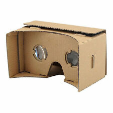 Google Carboard VR 3D Heaset Virtual Reality Gaming Glasses Andriod Phones / UK