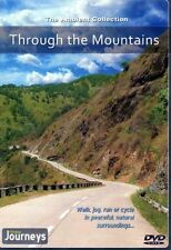 THROUGH THE MOUNTAINS VIRTUAL WALK WALKING TREADMILL WORKOUT DVD AMBIENT COLL