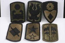USA US Army Sleeve Badge Patch Lot Subdued Infantry Brigade 199 92 49 39 72 171