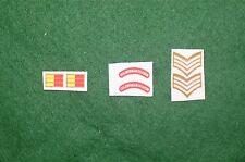 1/6 ww2 di British Coldstream Guards titoli spalla patch set lotto