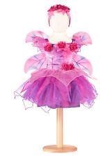 Girls Fuchsia Fairy Dress by Travis - Fuchsia Pink Fairy Dress Up Costume 3-5yrs