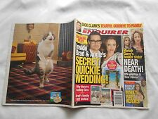 NATIONAL ENQUIRER WEEKLY MAGAZINE-MAY 7,2012-BRAD & ANGIE-MARIAH CAREY-D.CLARK