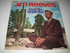 God Be With You by Jim Reeves (Vinyl/LP) ~REC
