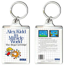 ALEX KIDD IN MIRACLE WORLD MASTER SYSTEM KEYRING LLAVERO