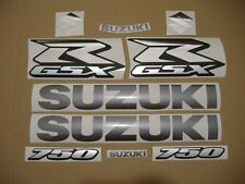 GSX-R 750 2008 complete decals sticker graphics kit set 08-09 motor autocollants