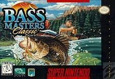 BASS Masters Classic (SNES) CART ONLY, SKU 850