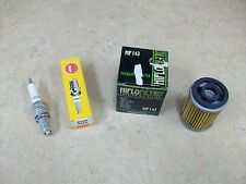 OIL FILTER + SPARK PLUG ELEMENT CLEANER TUNE UP KIT YAMAHA TT225 TT 225