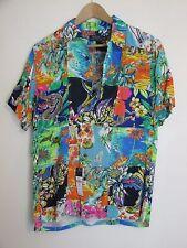 Polo Ralph Lauren Hawaiian patchwork cruise shirt S NWT MSRP $225