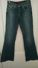 WOMENS SO LOW RISE STRETCH FLARE JEANS Sz 7