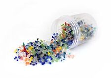 (50)Multicolor assorted Flower Glass Daisy Style Pipe Screens Lot Of 50
