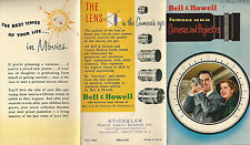 16MM Cameras and Projectors Features Photos 1950's Bell & Howell Brochure