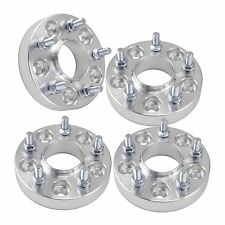 """(4) 1"""" Jeep Hubcentric Wheel Spacers 5x5   14x1.5 Studs   Fit Grand Cherokee"""