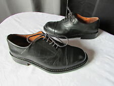 chaussures hommes bocage cuir noir 40