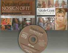 NATALIE GRANT No Sign of it RareMIX PROMO CD Gwyneth Paltrow CHRISTINA APPLEGATE