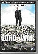 DVD ZONE 2--LORD OF WAR--CAGE/LETO/HAWKE/NICCOL
