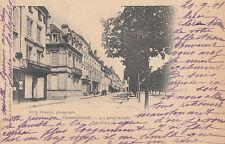 CHATELLERAULT la promenade cliché delaunet éd boiron guillot timbrée 1901