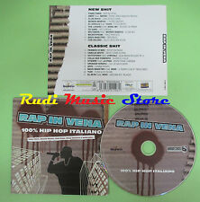 CD RAP IN VENA compilation 2006 FABRI FIBRA CLUB DOGO BASSI MAESTRO (C24) no mc