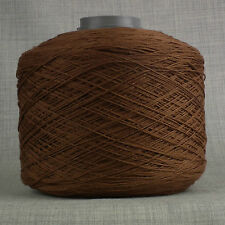 3,200mtr HEAVY DUTY GLACE 8s THICK SEWING THREAD BROWN LEATHER CRAFT UPHOLSTERY