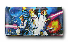 Star Wars Ladies Leather Poster Wallet Rock Rebel George Lucas films Logo girly.