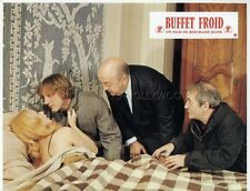 GERARD DEPARDIEU BERNARD BLIER BUFFET FROID 1979 VINTAGE LOBBY CARD ORIGINAL #10