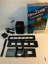 """ClearClick Film To USB Converter 35mm Slide and Negative Scanner with 2.3"""""""