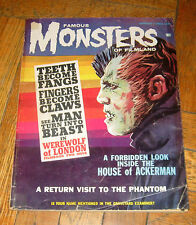 FAMOUS MONSTERS  OF FILMLAND # 24  AUG.  1963  WARREN