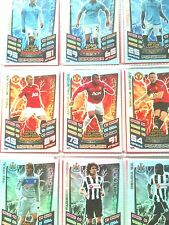 MATCH ATTAX 12/13 COMPLETE SET MAN OF THE MATCH 60 CARDS MINT