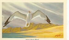 UTAH STATE BIRD-SEA GULL-1968-KENN HAAG-(BIRDS-35)