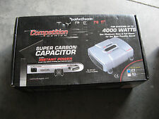 Rockford Fosgate 25 FARAD HIGH DENSITY CARBON Capacitor SUBWOOFER AMP SYSTEM NEW