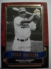 2003 SP LEGENDARY CUTS  JACKIE ROBINSON      BOX 18
