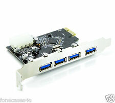 4 x USB 3.0 Port for PCI Express Card X16 Internal Motherboard Component Speed
