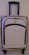 "CARRY ON LUGGAGE 22"" SPINNER NX XN PATTERN  ROLLING WHEELED Suitcase TRAVEL Bag"