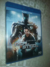 cofanetto+blu ray nuovo film blr Evangeline Lilly, Hugh Jackman-Real Steel