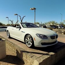 BMW: 6-Series 2dr Conv 640