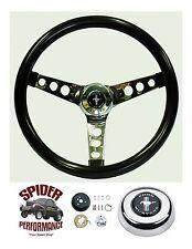"""1965-1969 Mustang steering wheel PONY 13 1/2"""" GLOSSY GRIP Grant steering wheel"""