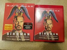 Birdman Blu-Ray w/Red Case and Pop-Out Slipcover Combo Pack!
