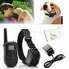 Rechargeable LCD 100LV Level Electric Shock Vibra Remote Pet Dog Training Collar