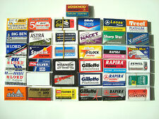 230 mixed Double Edge Safety DE Razor Blades sample pack Rasierklingen