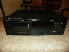 Pioneer CT-M55R Multi 6 Cassette Deck Player BLACK MODEL GOOD CONDITION