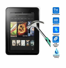 Genuine Premium Tempered Glass Screen Protector For Amazon Kindle Fire HDX 7""