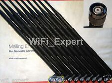 20x New Dual Band 2.4GHz 5GHz 9dBi RP-TNC High Gain WiFi Wireless Antenna USA