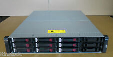 HP AJ795A MSA2312FC G2 DC STORAGE ARRAY & 2x AJ798A CTRL 9 x 450GB 15k Drives